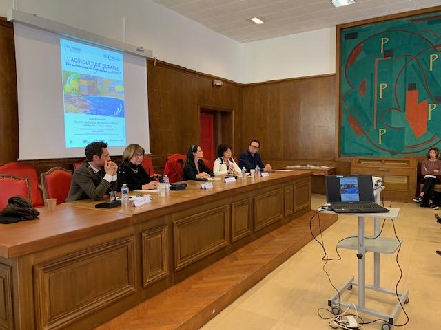 Intervention au colloque agriculture durable de l'Université de droit et de science politique d'Aix-en-Provence